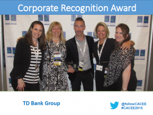 Corporate Recognition Award