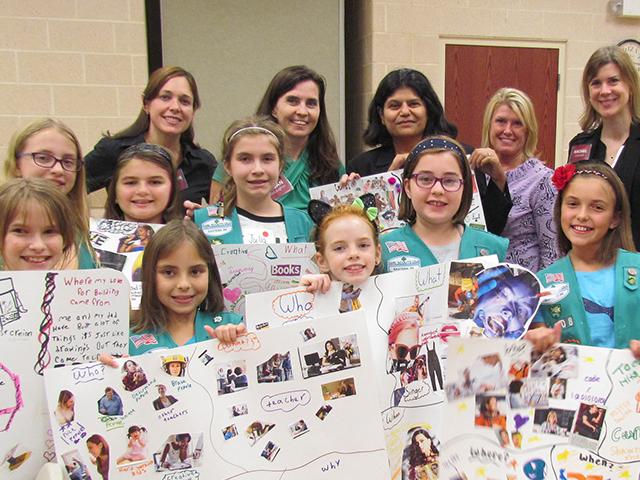 Girls scouts leadership
