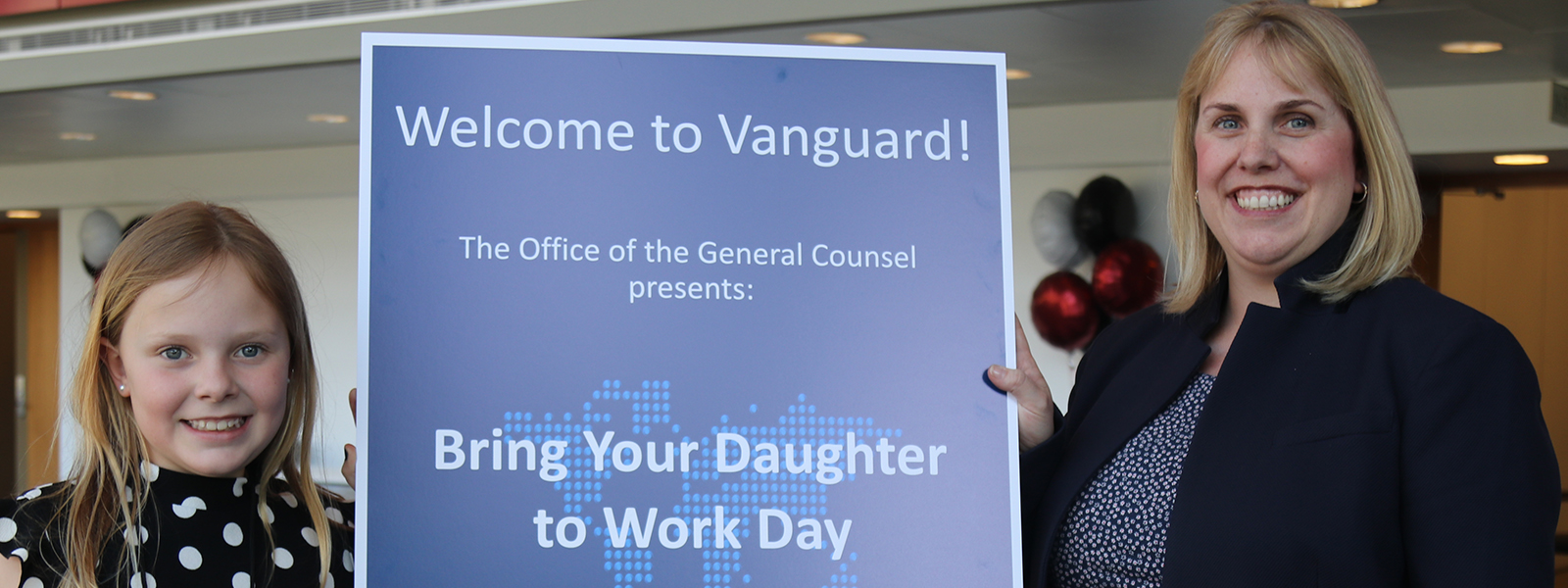 Vanguard take your daughter to work day