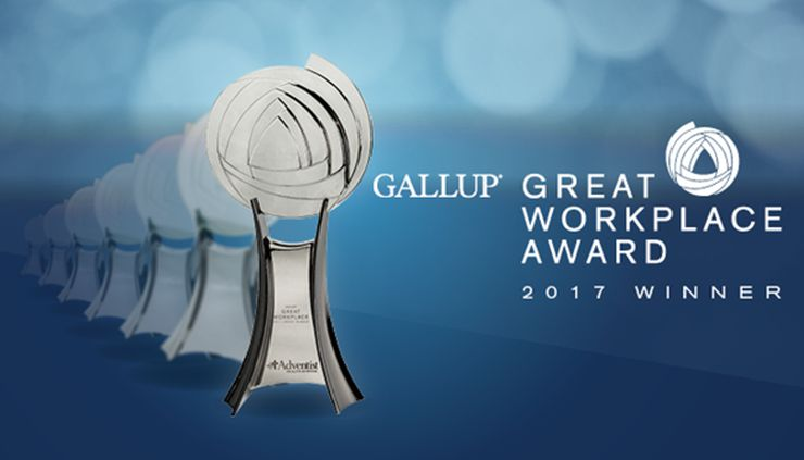 Florida Hospital Receives 2017 Gallup Great Workplace