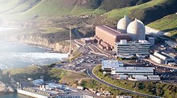 Bird's-eye-view of PG&E's Diablo Canyon Power Plant