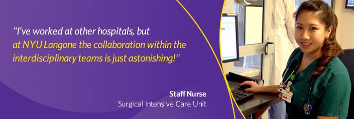 Staff Nurse at ICU