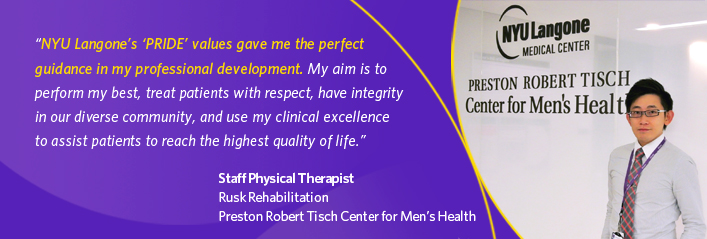 Staff Physical Therapist from Rusk Rehabilitation