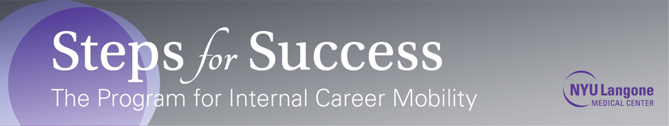 Steps for Success - The program for Internal Career Mobility