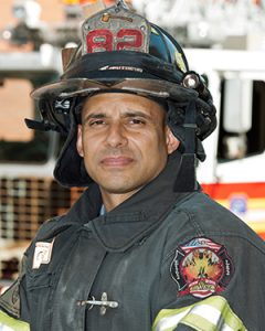 FDNY Firefighter,Andres Torres, Ladder 82