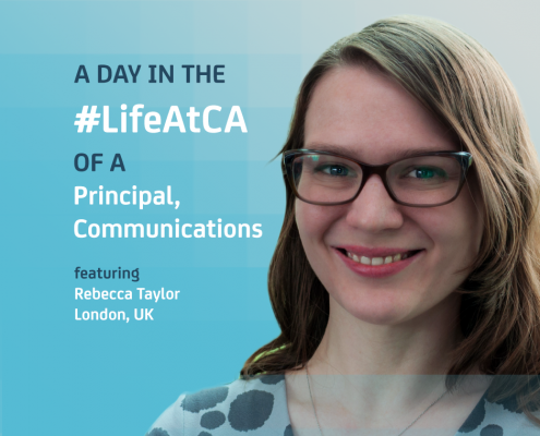 Day in the Life At CA: Communications