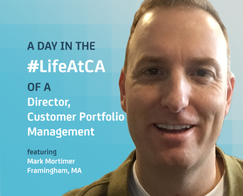 A Day In The Life At CA: Customer Portfolio Management