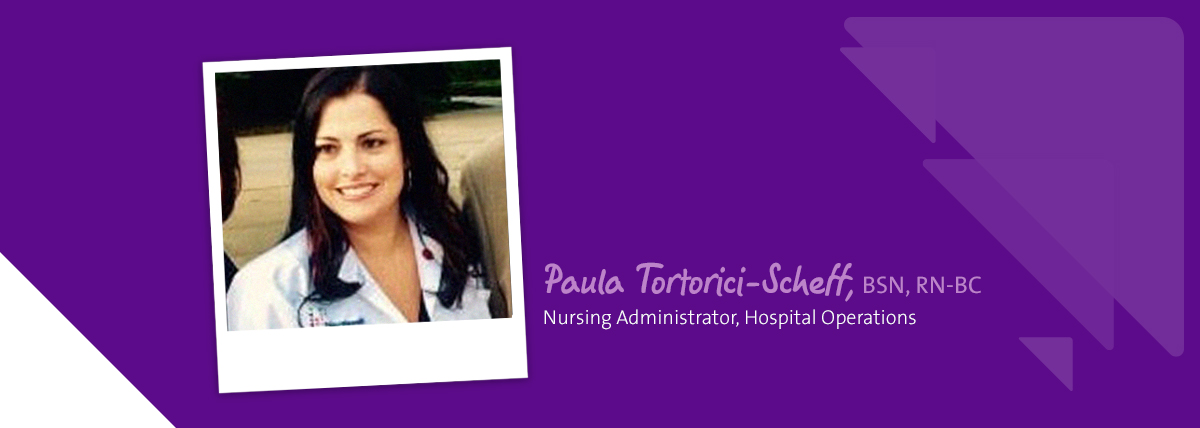 Employee highlight Paula Tortonici-Scheff