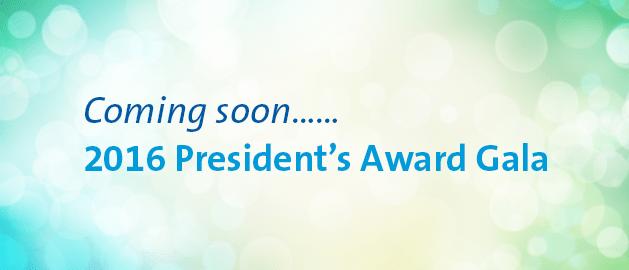 2016 President's Award Gala