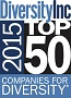 2014-2015 </p> <p>DiversityInc Top 50 Companies for Diversity