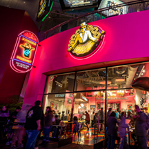 Storefront of Voodoo Doughnut at Universal CityWalk Hollywood