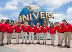 Team Members from Universal Orlando Resort partner with local schools