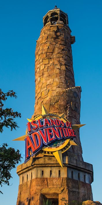 Island of Adventure Lighthouse Tower