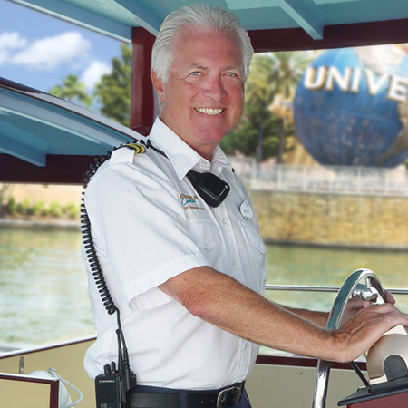 Team Member working as a Boat Captain