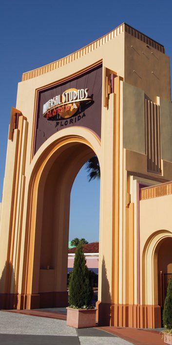 Universal Studios Florida arch entryway