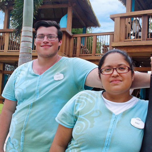 Team Members at Volcano Bay
