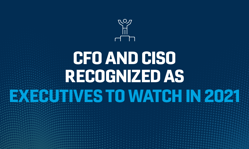 Peraton CFO and CISO Recognized as Executives to Watch in 2021
