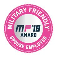 2018 Military Friendly Spouse Employer