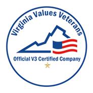 Virginia Values Veterans: Official V3 Certified Company