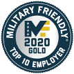 Military Friendly - Top 10 Employer