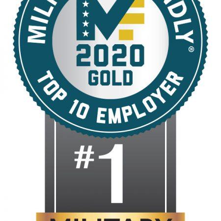 #1 Military Employer