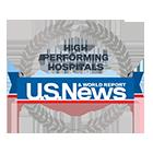 High performing Hospitals US News Rankings