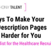 6 Ways To Make Your Job Description Page Work Harder For You