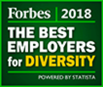Forbes 2018 - The Best Employers for Diversity Award