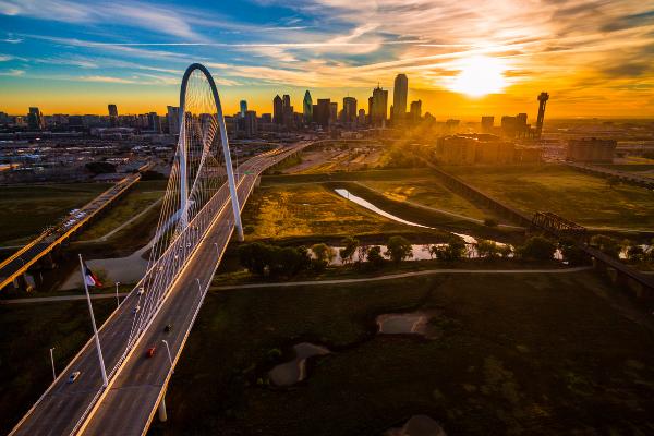 Picture of Dallas skyline