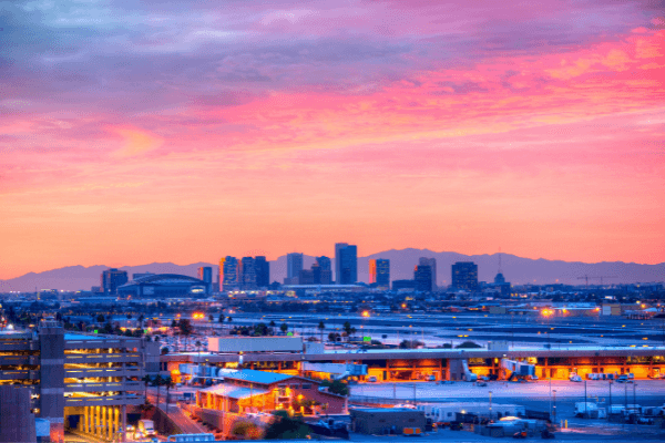 Picture of downtown PHoenix