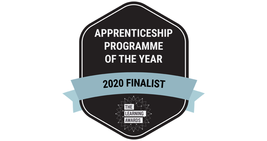 Apprenticeship Programme of the Year Finalist Badge