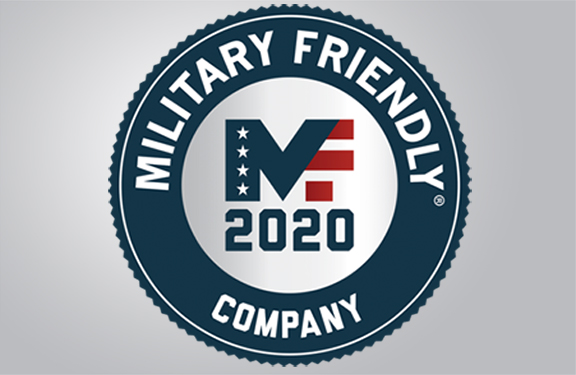 Travelers named 2020 Military Friendly Company