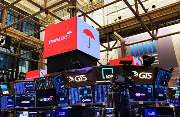 Travelers Institute Rings Opening Bell at New York Stock Exchange