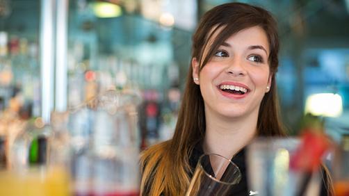 Radisson hotel bar employee