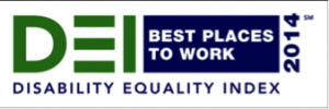 DEI - Disability Equality Index 2014 - Best Places to Work