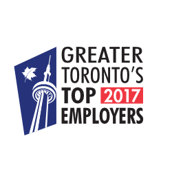 TD is named 1 of Greater Toronto's Top Employers for 2017!