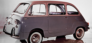 Minivan original dos anos 50
