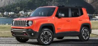 Jeep Renegade laranja
