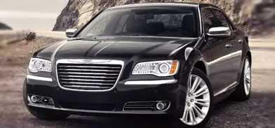 Chrysler 300 preto