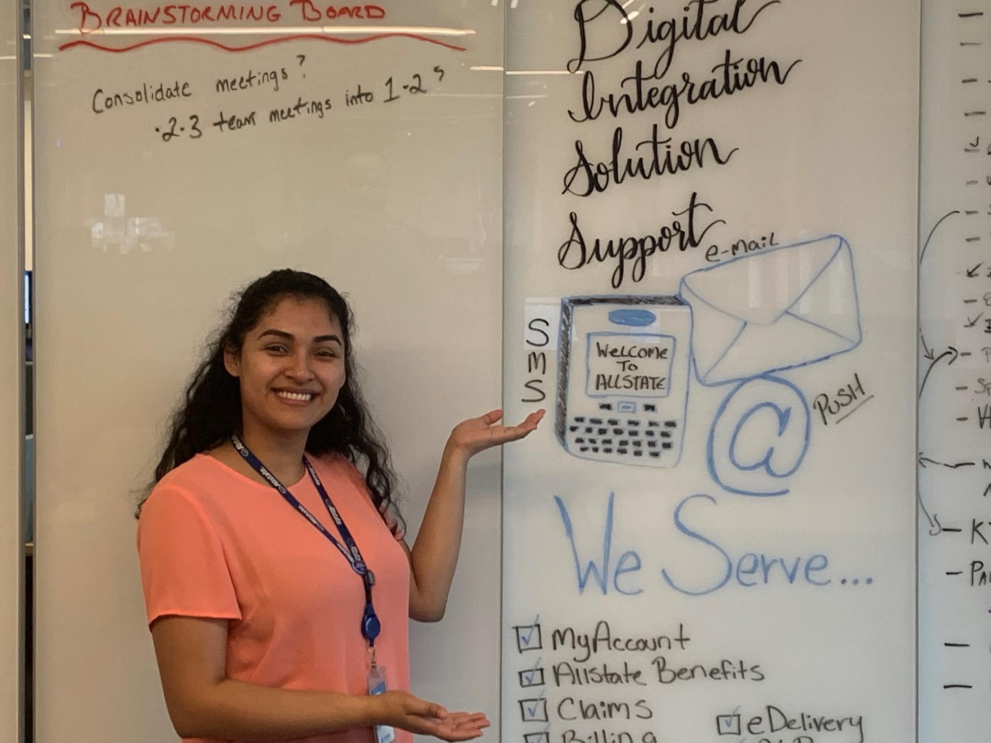 Meet Sintia Customer Service Rep Turned App Developer Allstate Careers