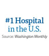 #1 Hospital in the U.S.