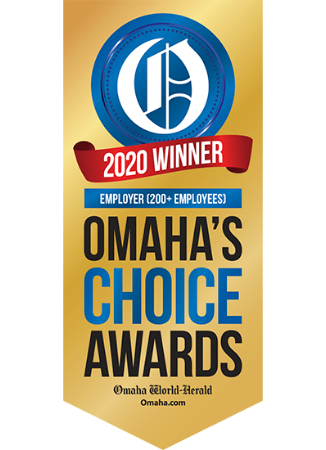 2020 winner of Omaha's choice award