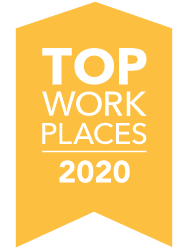 Des Moines Register Top Work Places Winner 2020