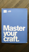 Master your craft sign