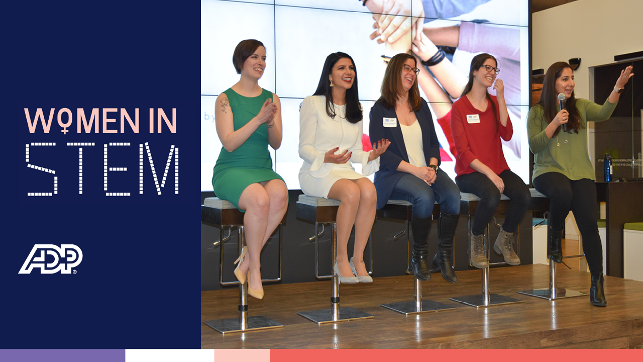 Video: ADP Women in STEM - Diverse Backgrounds