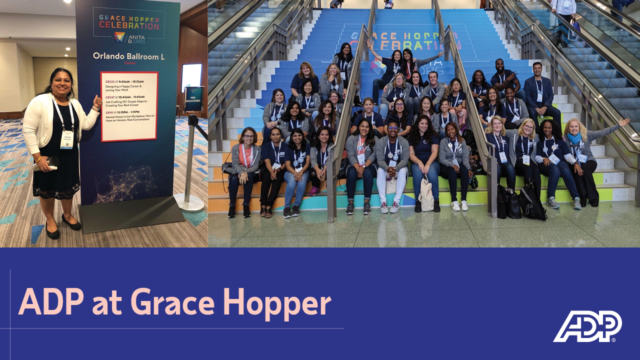 Video: ADP at Grace Hopper