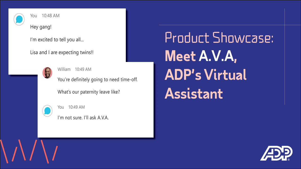 Video: Meet A.V.A, ADP's Virtual Assistant