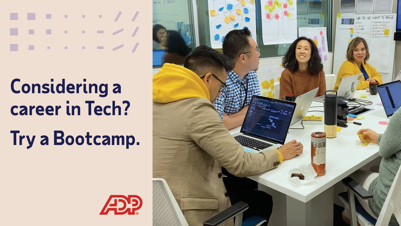 Video: Considering a career in Tech? Try a Bootcamp.