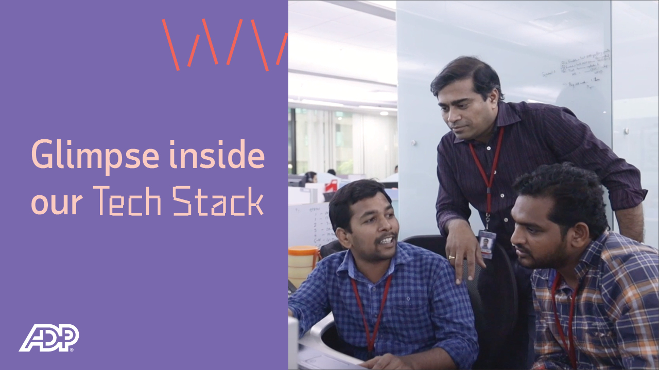 Video: Glimpse inside our tech stack