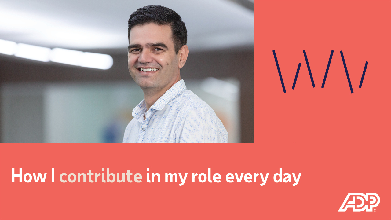 Video: How I contribute in my role every day